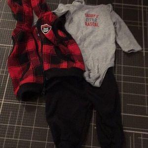Carter's 3 Piece Outfit, vest